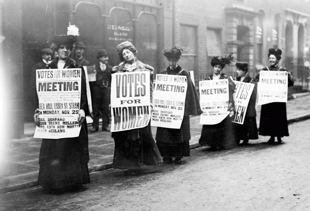 More electoral inequalities : the Road to Female Suffrage photo
