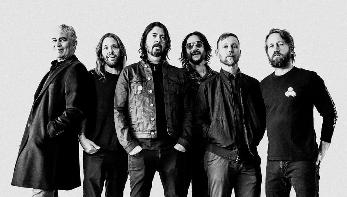 The Foo Fighters photo