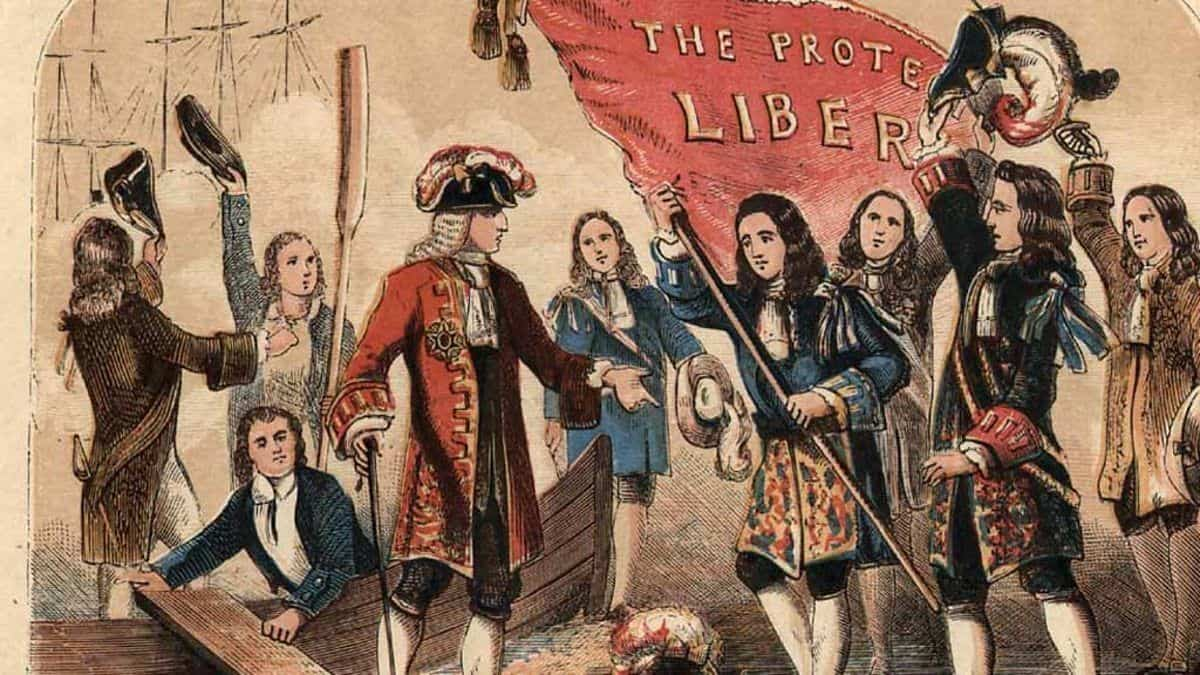 The Glorious Revolution of 1688 photo