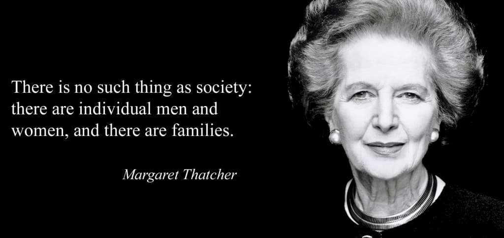 The Thatcher Years : the individual and society photo