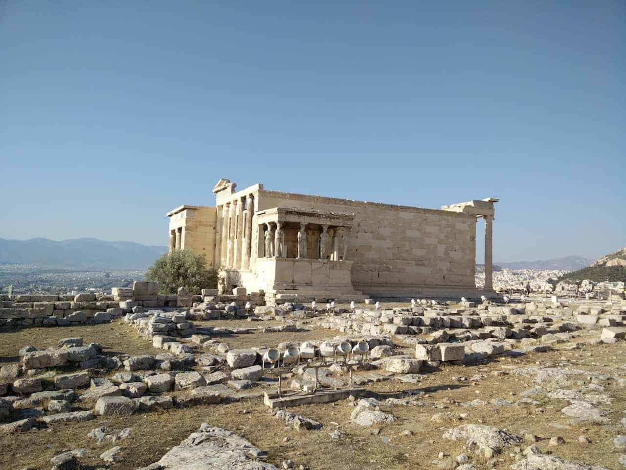 Athènes : le musée archéologique et l'Acropole photo 15