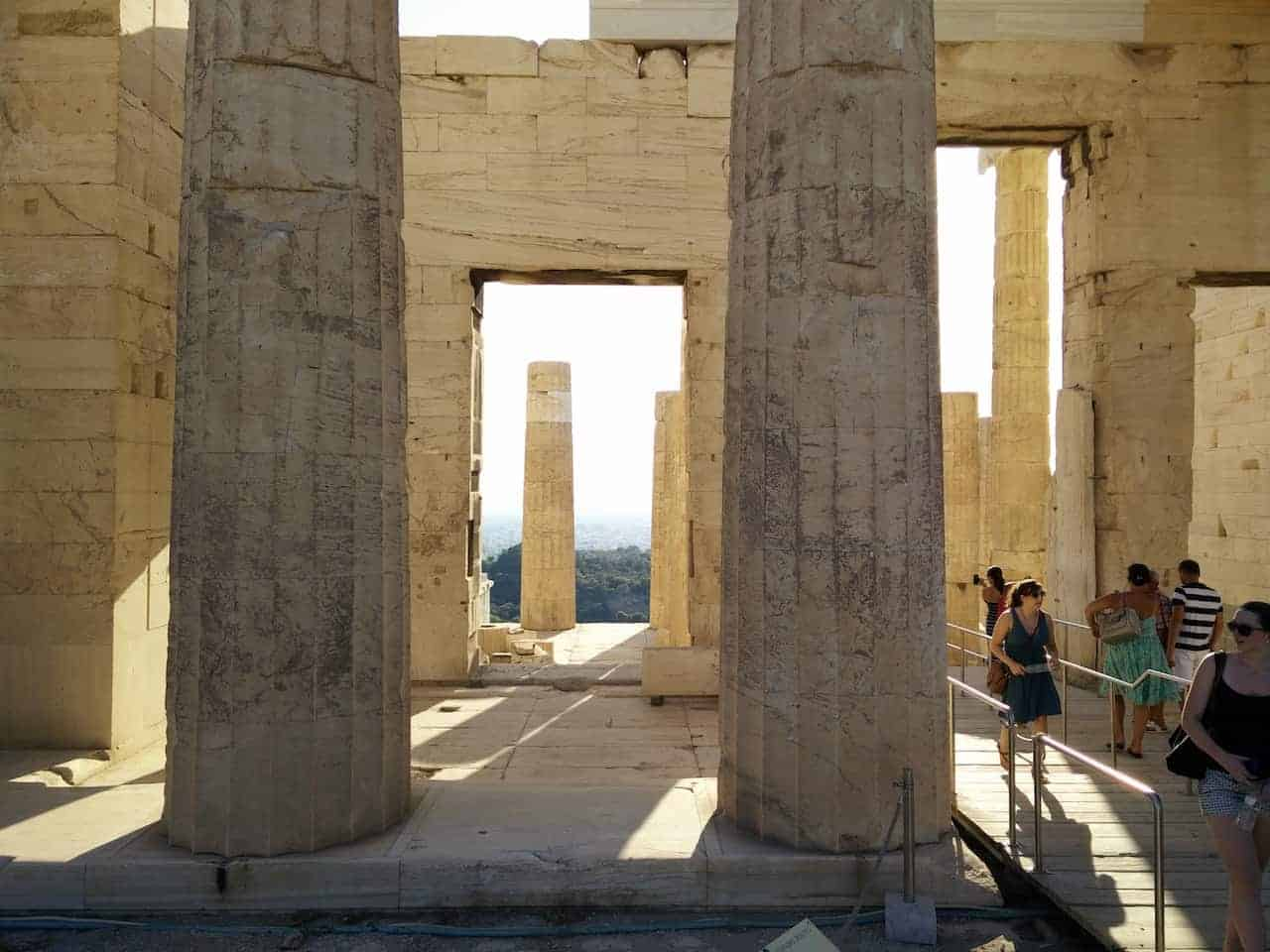 Athènes : le musée archéologique et l'Acropole photo 13