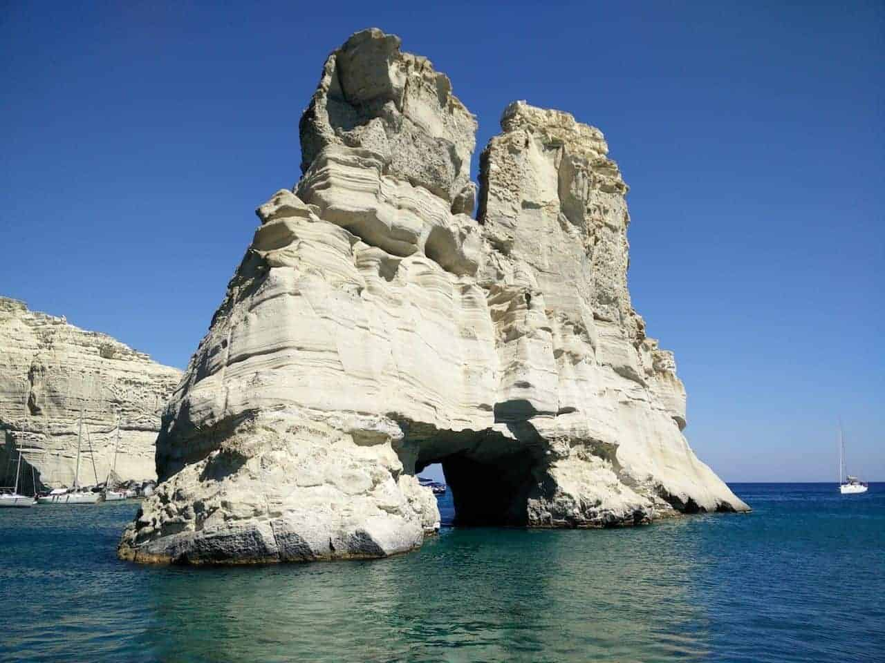 Les Cyclades : l'île de Milos photo