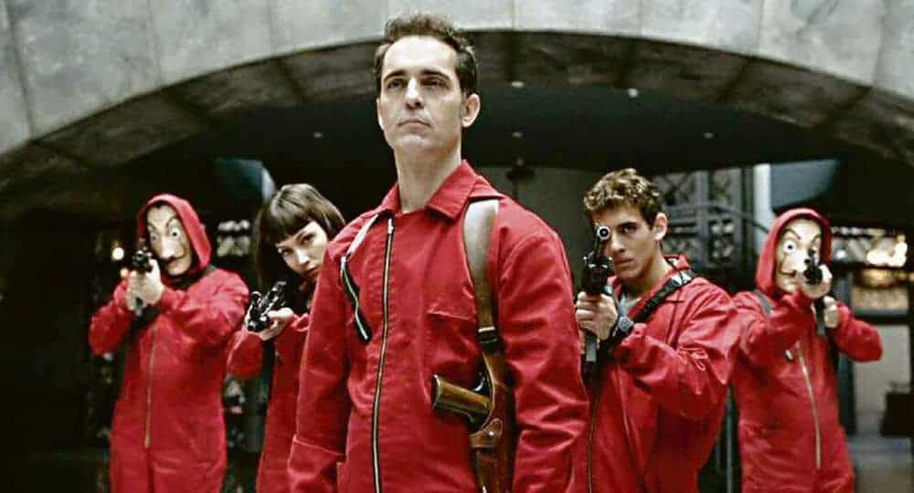 La Casa de Papel saison 2 photo