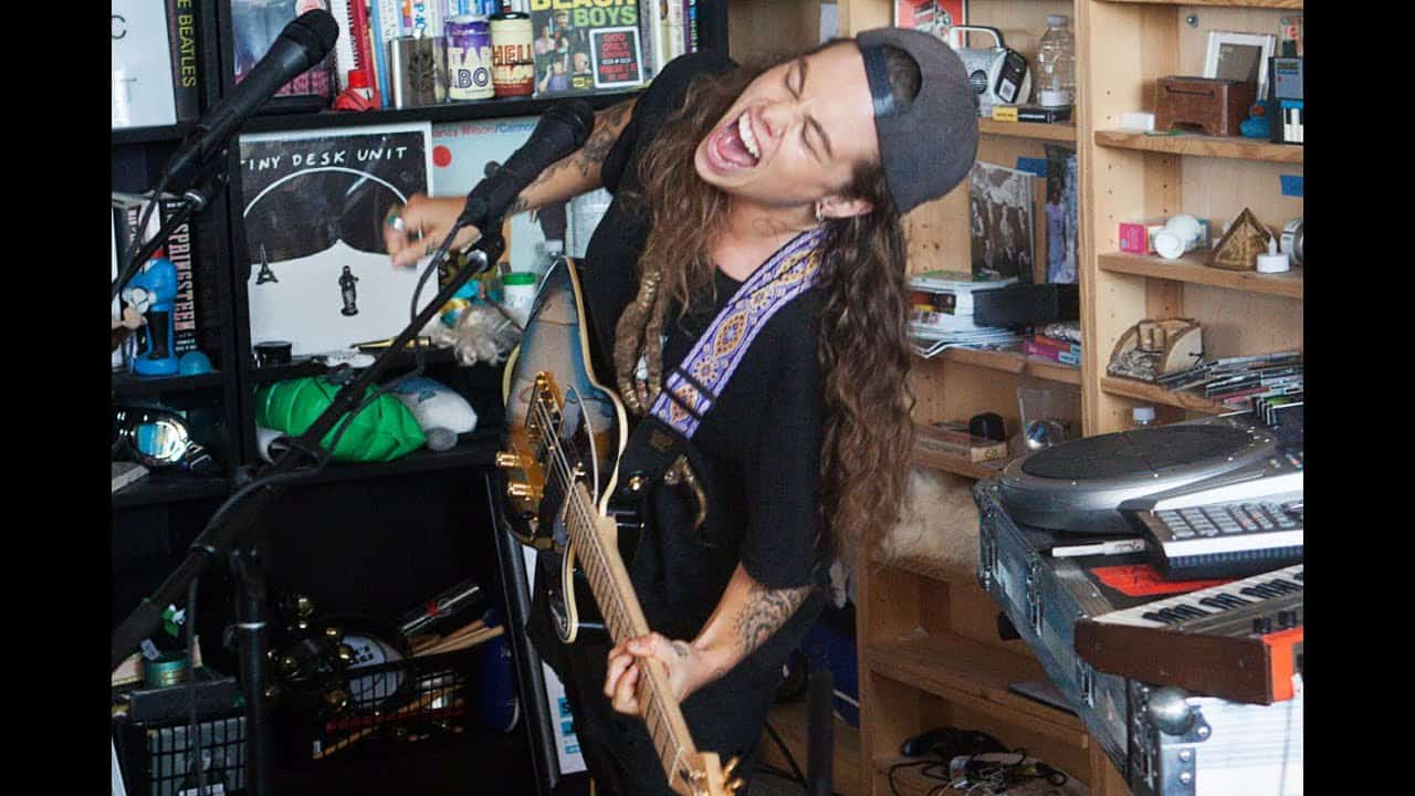 Tash Sultana - Tiny Desk concert (NPR) photo