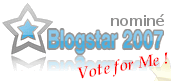 Blogstar 2007 : nominations