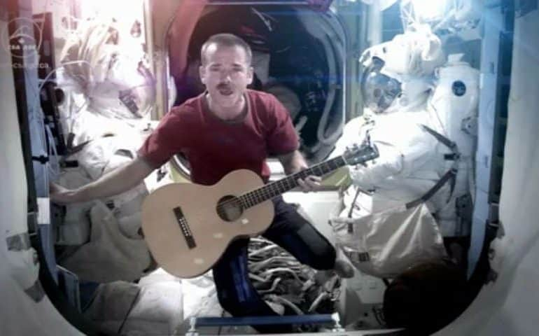 Chris Hadfield - Space Oddity (David Bowie cover, from space!) photo