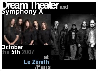 Concert Dream Theater au Zenith Paris