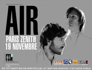 Concert d'Air au Zenith de Paris