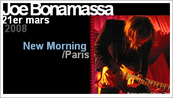 Concert de Joe Bonamassa au New Morning
