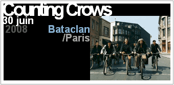 Counting Crows au Bataclan