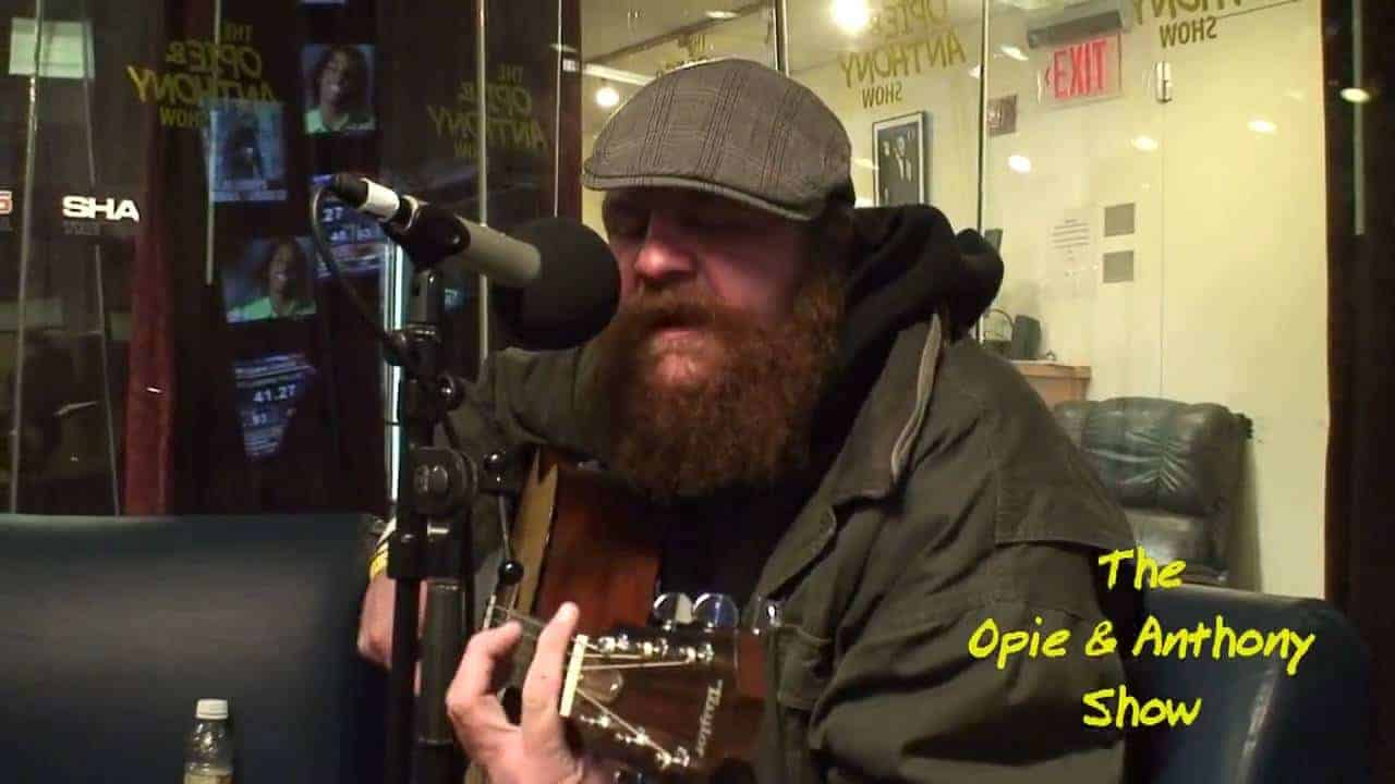 "Daniel ""Homeless"" Mustard - Creep (live on Opie and Anthony's show) photo"