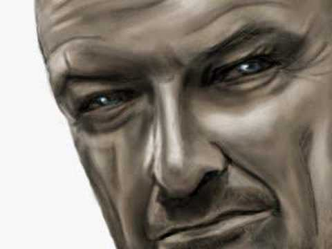 John Locke de LOST en speed painting photo