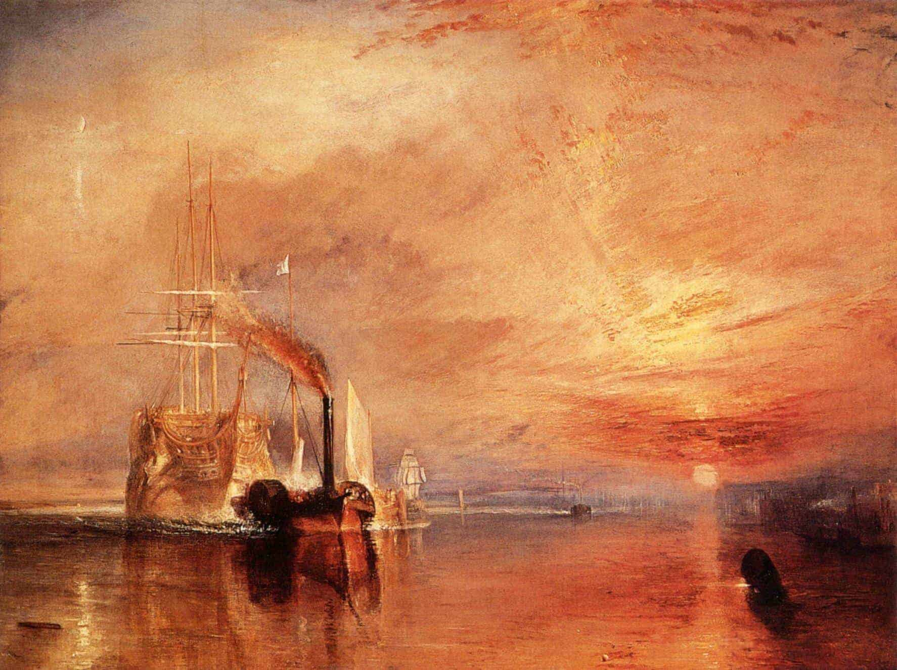 Joseph Mallord William Turner – The Fighting Téméraire (1836)