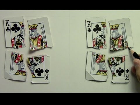 Mark Crilley - Realism Challenge #3: Playing Card photo