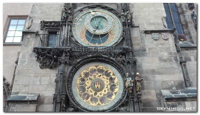 prague horloge astronomique Prague Summer Trip 2015   day 2: Old Town Square, horloge astronomique et gastronomie