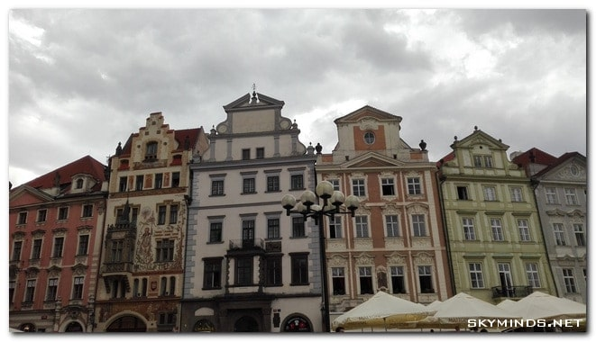 prague old town square Prague Summer Trip 2015   day 2: Old Town Square, horloge astronomique et gastronomie