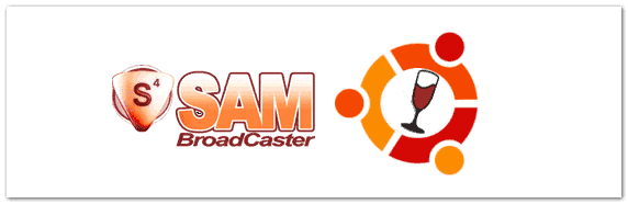 sam broadcaster ubuntu wine