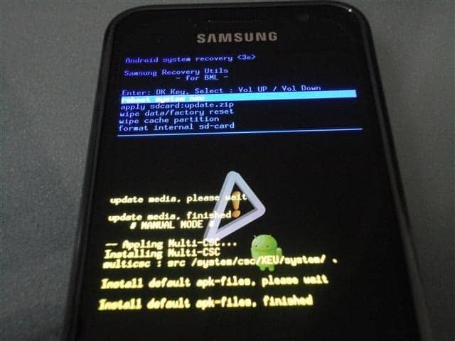 sgs recovery mode Android : les modes Recovery et Download sur le Samsung Galaxy S