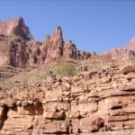 Grand Canyon : boat trip on the Colorado River