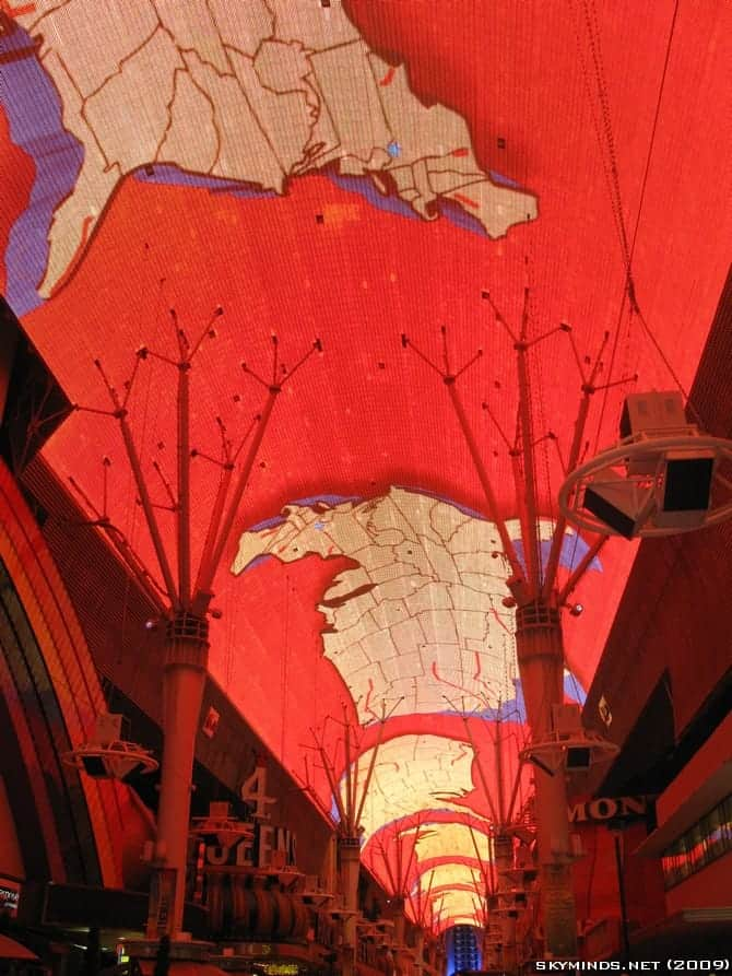 Las Vegas : the Fremont Street Experience - Summer of 69 photo