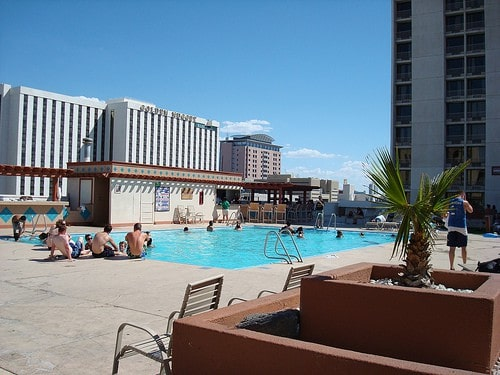 Las Vegas : The Plaza pool