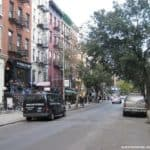 New York : St Mark's Place in East Village