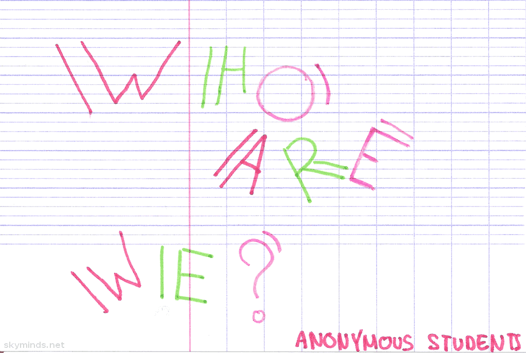 "In lycée with Mister B. : ""who are we ?"" photo"